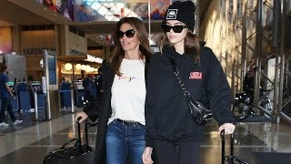 Supermodel Kaia Gerber Jets Out To Fashion Week With Mom, Cindy Crawford