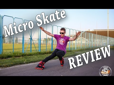 MICRO SR Inline Skates – REVIEW and TEST – slides, jumps, stairs and freeride