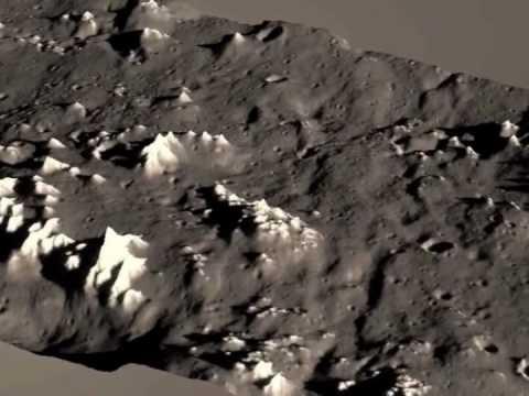 Eroded plains of Callisto
