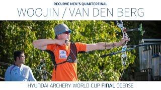 Kim Woojin v Sjef van den Berg – Recurve Men's Quarterfinal   Odense 2016