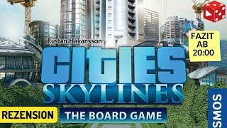 Cities Skylines (Kosmos 2019) Rezension Brettspiel im Test