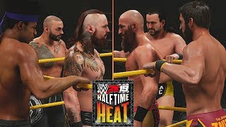 WWE Halftime Heat 2019: Black, Ricochet & Dream Vs. Ciampa, Gargano & Cole