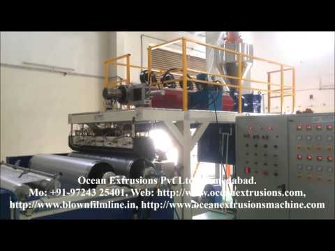 Air Bubble Sheet Making Machine Plant
