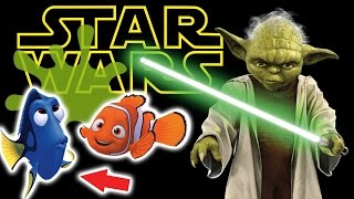 Star Wars Mystery Egg Key Chain and Finding Dory Surprise Eggs and also Ghostbusters goo SPLATTING!