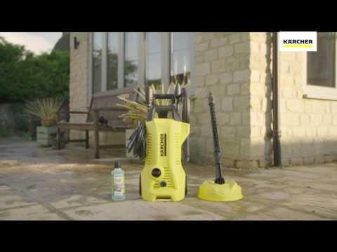 Karcher Full Control K2 Home 110bar Pressure Washer 1.4kW 240V