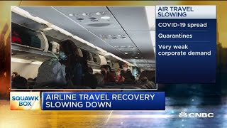 Why Airline Travel Recovery Appears To Be Slowing Down