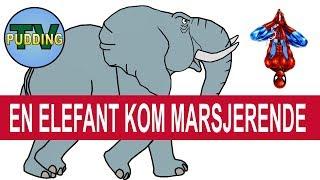 En elefant kom marsjerende m.m. - Norske barnesanger