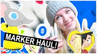 DRAWING with a BIG MARKER HAUL!
