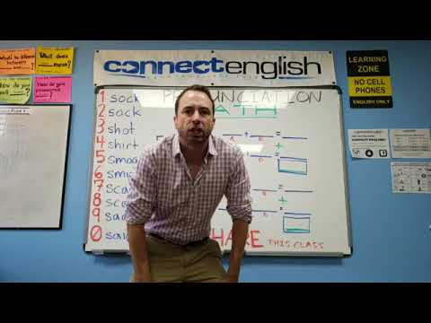 Connect English Pronunciation Math, Volume 5 - Pacific Beach Campus