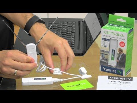 freenet TV USB-Stick - Einrichtung, Installation und Registrierung
