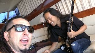 DragonForce Recording with Five Finger Death Punch on a Yacht