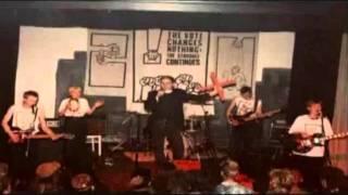 Chumbawamba - More Whitewashing, Live in Barrhead, 1987