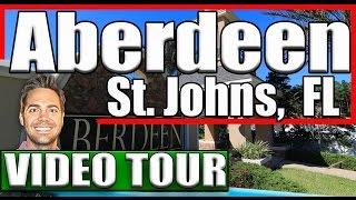 Aberdeen Jacksonville FL VIDEO TOUR Aberdeen St Johns FL