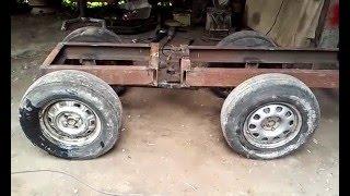 Самодельные трактора с ломающейся рамой и их сборка на