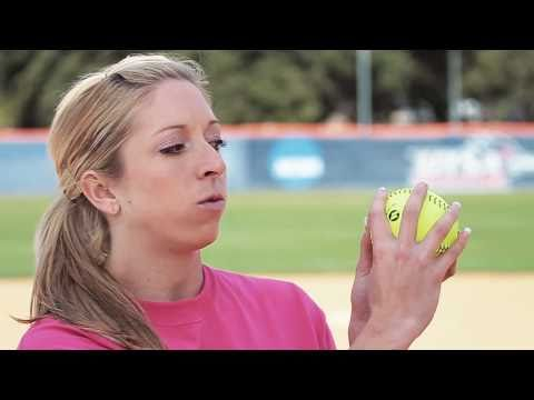 Softball Pitching tips: How to throw a dropball - Amanda Scarborough