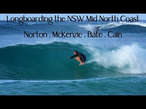 Long rights at Crescent Head for longboard surfing