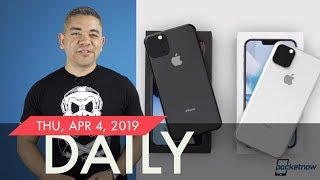 iPhone XI Leaked again, Galaxy S10 5G US launch date & more