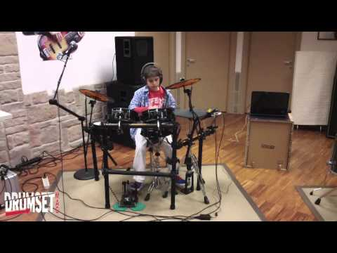 Mark Drum, YES, test 01, digital drums, batteria elettronica