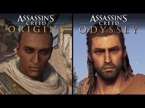Assassin's Creed: Odyssey vs Assassin's Creed: Origins | Direct Comparison