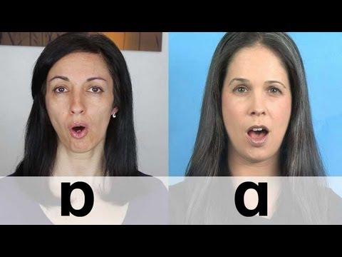 American vs. British English - Vowel Sounds - Pronunciation differences
