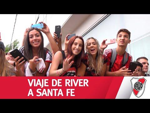 Santa Fe se vistió de River