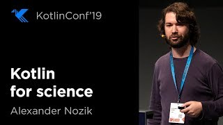 Kotlin for Science