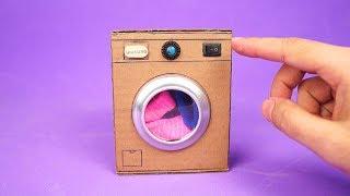 Incrível Mini Máquina de Lavar que você vai querer fazer em casa