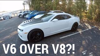 V6 OVER V8... MY 2015 CAMARO