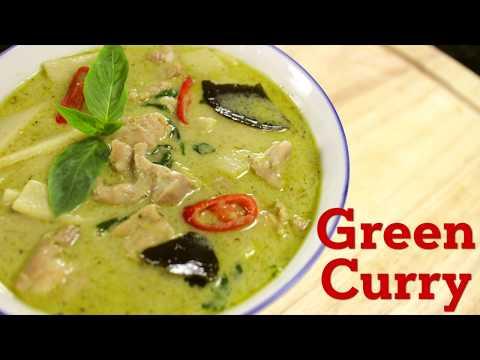 Thai Green Curry Recipe แกงเขียวหวาน - Hot Thai Kitchen