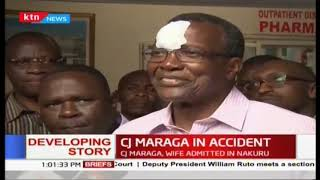 CJ Maraga and his wife to be airlifted to Nairobi after they were involved in an accident