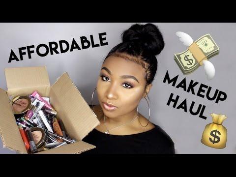 $1-$6 Affordable Drugstore Makeup Haul | iKateHouse
