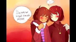 Frisk and Chara Dub Compilation! (Undertale Comic Dub)