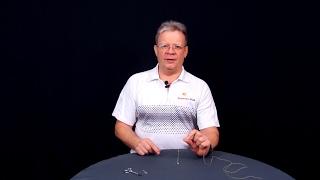 Как привязать мормышку в петлю