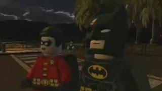 LEGO Batman 2: DC Super Heroes (3DS) - 100% Walkthrough Part 2 - Joker Getaway