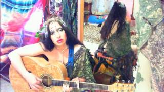 Hot SEXY,slow Kama,sutra,love,song female,lady kashmir,thong,naked Ibanez acoustic guitar,