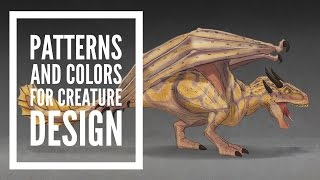 How to Paint Patterns and Colors for Creature Design