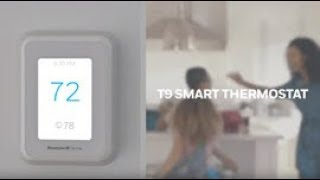 Honeywell Home T9 Smart Thermostat with Smart Room Sensors | DIY Smart Home