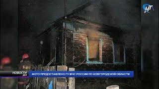 Следственный комитет проводит проверку по факту гибели на пожаре троих жителей Пестова