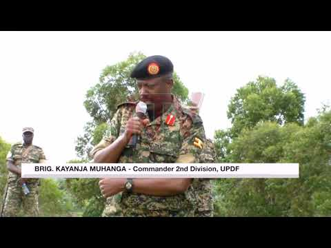 Gen. Muhoozi unveils mountain division in Kabarole district