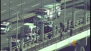 Tense Situation On The George Washington Bridge