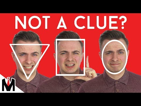 Don't Know Your FACE SHAPE? How To Find a HAIRSTYLE That Suits You   Men's Haircut Head Shape Tips