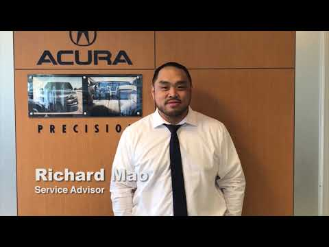 Service Advisor Richard Mao