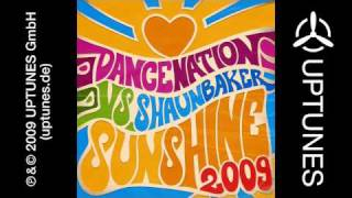 Dance Nation vs. Shaun Baker - Sunshine 2009 (RainDropz Radio Edit)