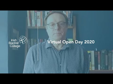IBC Video: Virtual Open Day // David Luke - Tutor