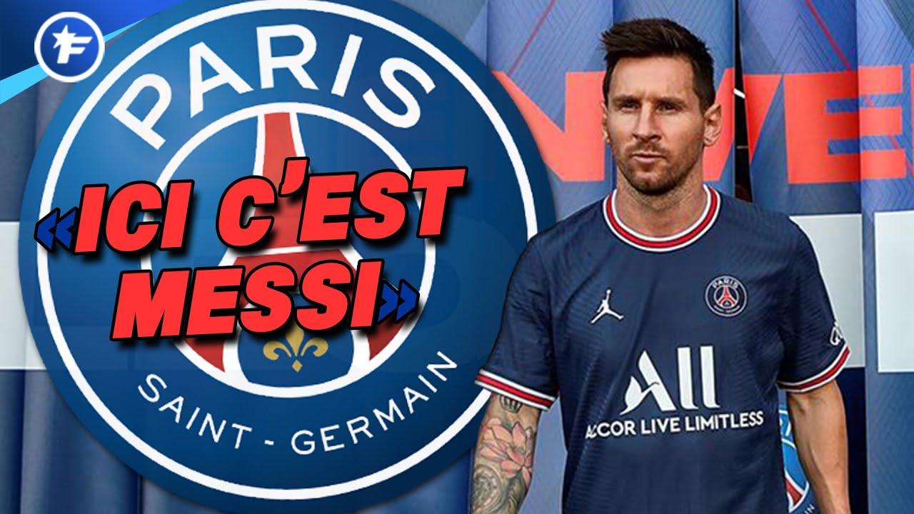 La signature de Lionel Messi au PSG fait chavirer la presse mondiale   Revue de presse