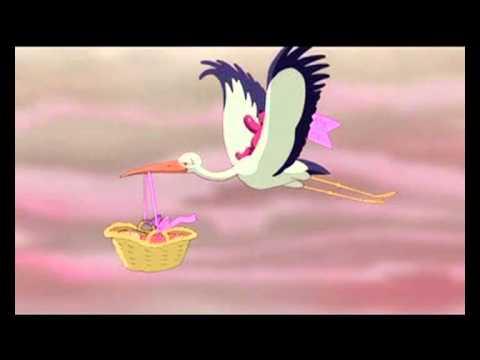 Dove posso trovare un video con la cicogna che porta un - Immagini di cicogne che portano bambini ...