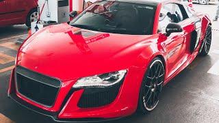 Most INSANE Audi R8 Body Kit - Motormind Design w/ LOUD Larini Exhaust