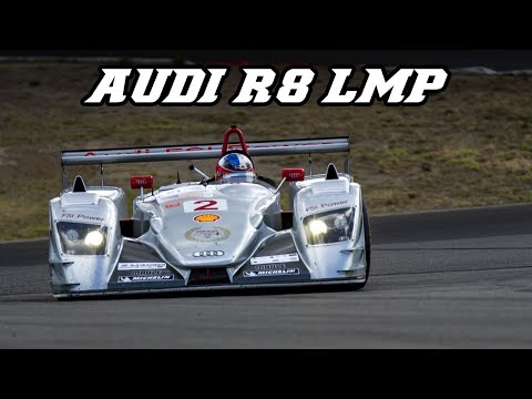 2005 Audi R8 LMP1 - racing at Spa & Nürburgring 2018
