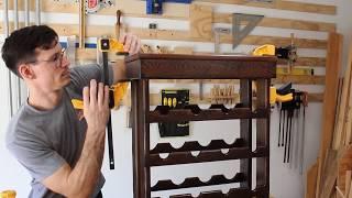 Building A Custom Wooden Wine Rack!