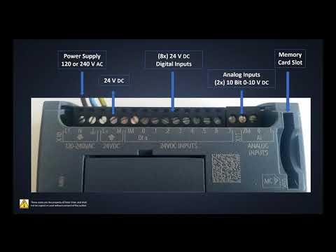 Siemens TIA Portal Tutorial (S7-1200 PLC_Hardware Overview)